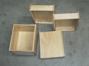 Assembled, Bonded, and Screwed Kitchen Drawers