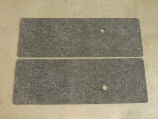 Bonded Indoor-Outdoor Carpet to Cab Door Panels