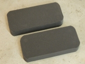 Cut Foam Rubber to Fill Cab Floor Cavity