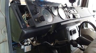 Disassembled Dash to Gain Wiring Access