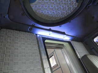 Fabricated, Installed, and Tested Cab Interior Light Switch Bracket and Switch