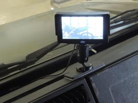 Installed Backup Camera