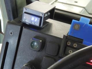 Installed EGT Gauge Monitor