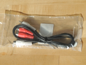 Received Audio Extension Cable