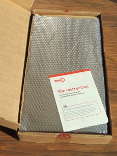 Received Sound Deadening Mat