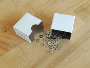 Received Washers for Cabinet Door HInges