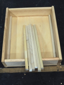 Reinforced Kitchen Drawers with Half Inch Poplar Strips
