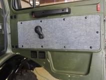 Reinstalled Carpeted Door Panels