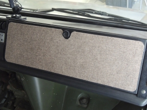 Reinstalled Glove Box Assembly
