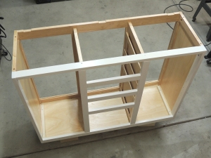 Started Building Lower Kitchen Cabinet