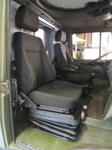 Test Fit New Seats in Cab