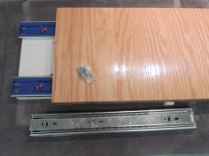 Added 2 additional slides to slide out cutting board