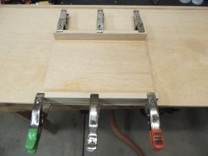 Bonded intermediate shelf for kitchen pantry