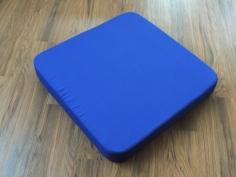 Covered foam rubber passthrough plug