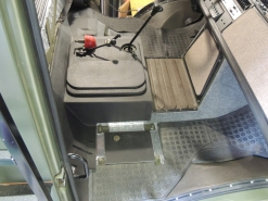 Final Installed Sound Deadening Floor Mat