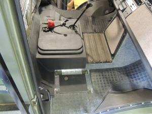 Final Installed Sound Deadening Floor Mat