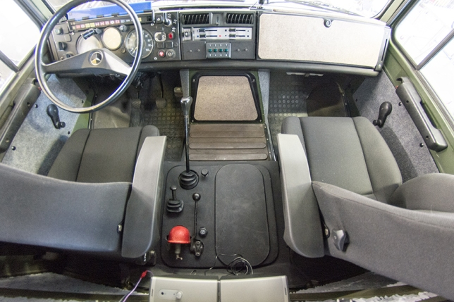 Finished Cab Interior
