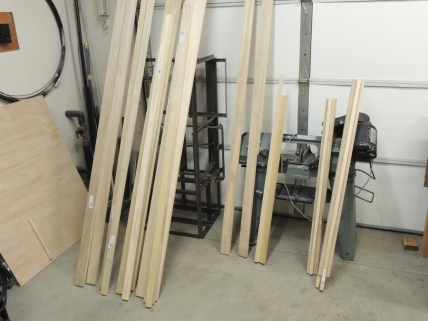 Purchased the majority of the lumber and plywood for habitat interior