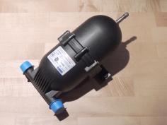 Received drinking water pressure accumulator