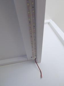 Installed passenger side LED under cabinet lights