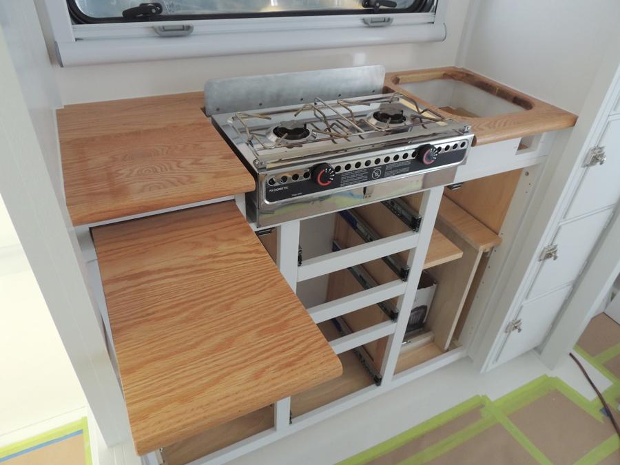 Kitchen lower cabinet installation sequence-heat shield ...