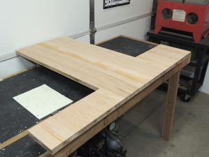 Routed profile of new table