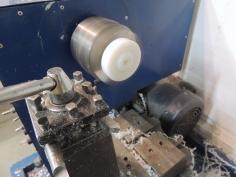 Started designing and fabricating interior ground power plug mount