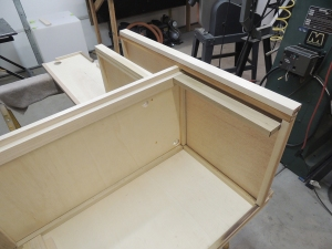 Started fabricating calorifier enclosure-refrigerator support