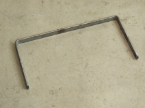 Fixtured and welded ladder subframe mount