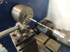 Machined and welded phillips drive extension