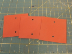 Made RTV gaskets for awning mount