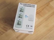 Ordered and received indoor-outdoor thermal weather station