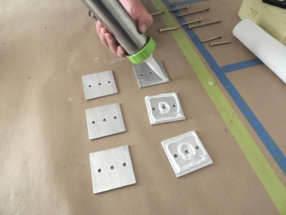 Prepped and bonded awning mount plates