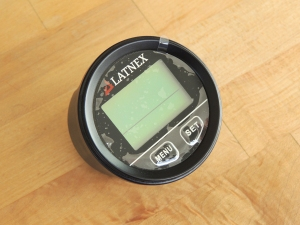 Received GPS backup speedometer