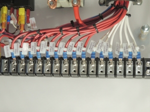 Installed distribution panel