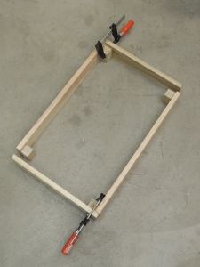 Fabricated forward bench riser