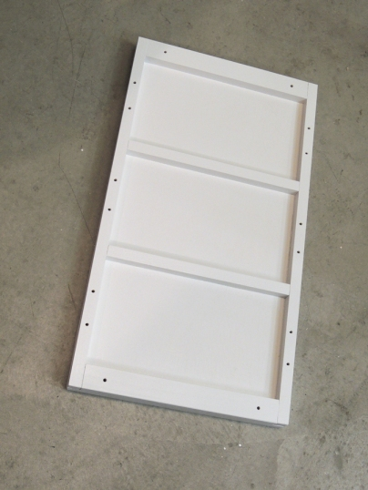 Fabricated lithium battery tray