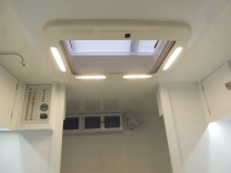 Function checked roof hatch led lighting