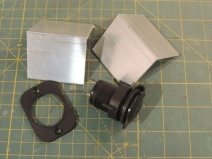 Machined refrigerator and fill pump electrical socket mounts