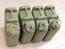 Received additional water jerry cans