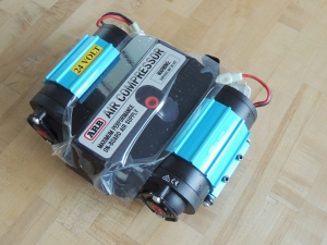 Received ARB air compressor