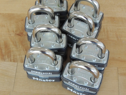 Received padlocks