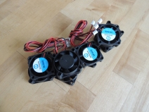 Received small ventilation fans