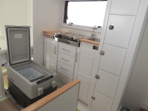 Test fit refrigerator prior to installation