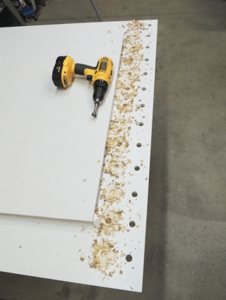 Drilled additional vent holes in driver side bed deck