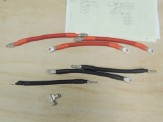 Fabricated additional battery cables