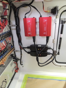 Installed inverters and GFCI breakers