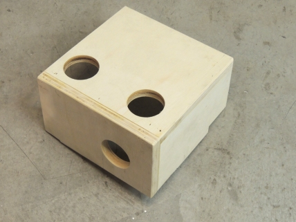 Made heater duct distribution box