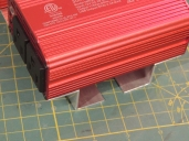 Made mounting brackets for inverters