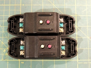 Prewired GFCI breakers on bench
